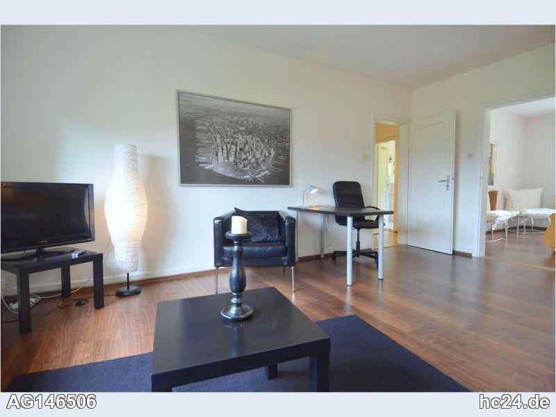 Sehr schöne, möblierte Wohnung in schöner Halbhöhenlage in Stuttgart West